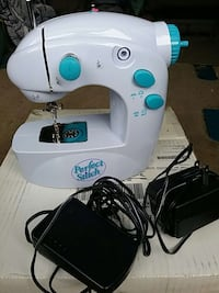 white Perfect Stitch sewing machine Owings Mills, 21117