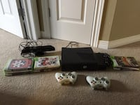 Xbox 360 with games and Kinect Guelph
