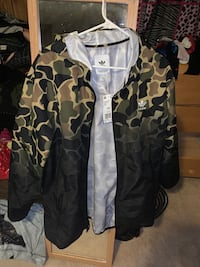 Wind Breaker Jacket Camo Woodbridge, 22192