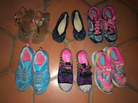 Shoe bundle for girls Sz 3 Miami Lakes, 33018