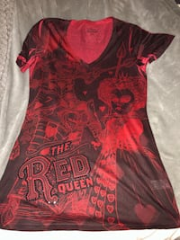 women's red and black floral dress 2288 mi