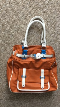 Orange leather purse from Poland  Barrie, L4N 9R7