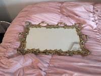 Antique mirror perfume tray  Marlboro, 01752