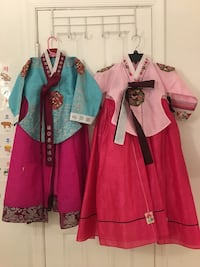Korean traditional clothes for girls Chantilly, 20151