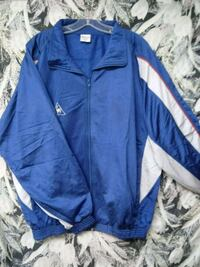 blue and white zip-up jacket Frederick, 21701