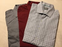 Kenneth cole slim fit dress shirts 5 dollars each