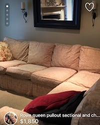 Rowe Sectional with sofa bed Galway-Cavendish and Harvey, K0L 1J0