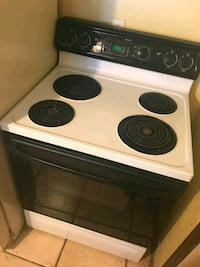 white and black 4-coil electric range oven Tucson, 85746
