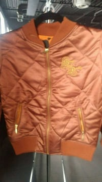orange zip-up jacket Mississauga, L4Y 4G6