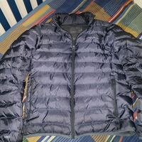 black zip-up bubble jacket Richmond Hill, L4C 5T3