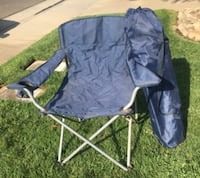 black and gray camping chair Galt