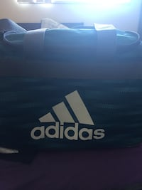 black and white Adidas duffel bag Coquitlam, V3J