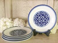 Catalina Blue Medallion Plates by Home White Bluff, 37187