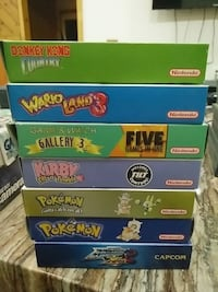 Assorted Gameboy Games CIB St. Catharines, L2S 1W7