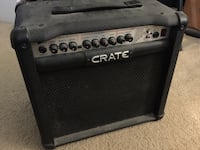 Crate Guitar Amp with Fender speaker West Chester, 19380
