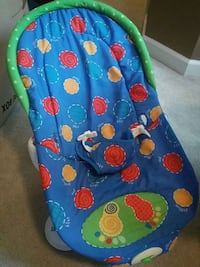 blue, red and green bouncer seat Chesapeake