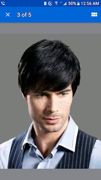 New Mens Natural Black Hair Wigs. Toronto, M4C 1M7