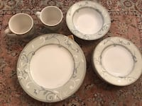 4 plates /4 dessert or salad plates/ 2 mugs and one bowl Los Angeles, 91367