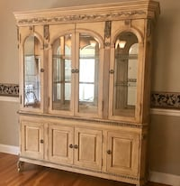 brown wooden cabinet with mirror Mahwah, 07430