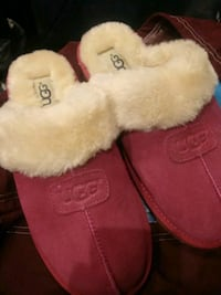 Ugg plush slippers Boston