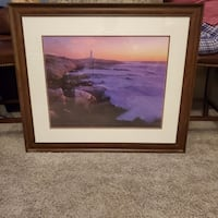 Peggys Cove Framed Picture Calgary, T3G 5Y5