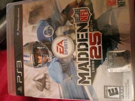 Madden 25 ps3 Console game