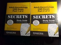 two Science Study Guide books