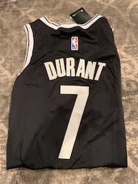 KEVIN DURANT BROOKLYN NETS BASKETBALL JERSEY SIZE 48 New York, 10019