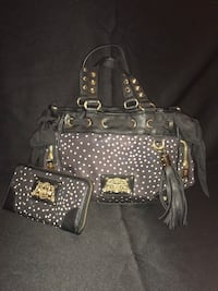 juicy couture handbag and matching wallet obo 1552 mi