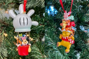 Disney Pals and Friends Sketchbook Holiday Ornament Bundle (2-pc.)