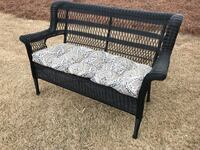 Great condition outdoor wicker love seat
