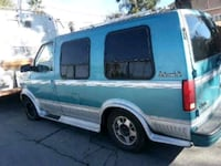 blue and gray delivery truck 2218 mi