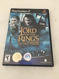 Lord of the Rings Two Towers for PS2 Whitby