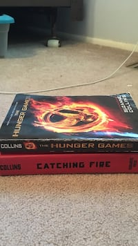 Hunger Games first two books. Very good condition