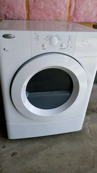 Whirlpool white front-load clothes washer Edmonton, T6W 1E8