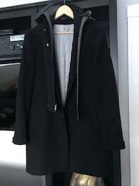 Italian man coat use with or without hoodie size M 3150 km
