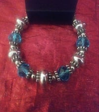 silver and blue beaded bracelet Spring Hill, 34609