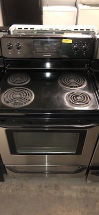 Frigidaire stainless steel coils electric stove