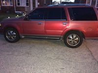 Suv for parts Baltimore, 21206