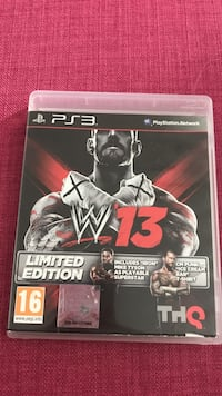 W13 Limited Edition PS3 spill tilfelle