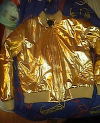Gold and black zip-up jacket Loch Sheldrake, 12759