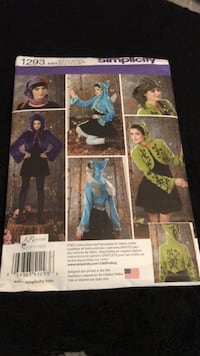 costume sewing pattern Rocklin, 95765