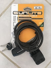 Sunlite Security bike cable San Diego