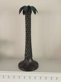Bronze Palm Tree Candle Holder Mc Lean, 22101