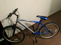 blue and gray hardtail mountain bike Ames, 50010