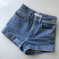 $100 American Apparel high-waisted shorts size 24 (XS) London, N5V 5J4