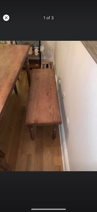 Wood Dining Room Bench New York, 10019