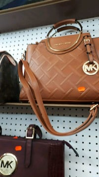 brown leather Michael Kors 2-way bag Montréal, H3N 2R6
