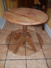 Wooden Pedestal Table Mississauga