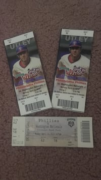 Old philly baseball tickets Shamong, 08088